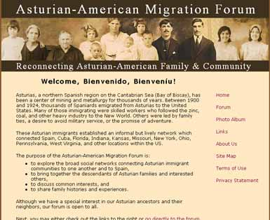 Discussion forum for cultural organziation